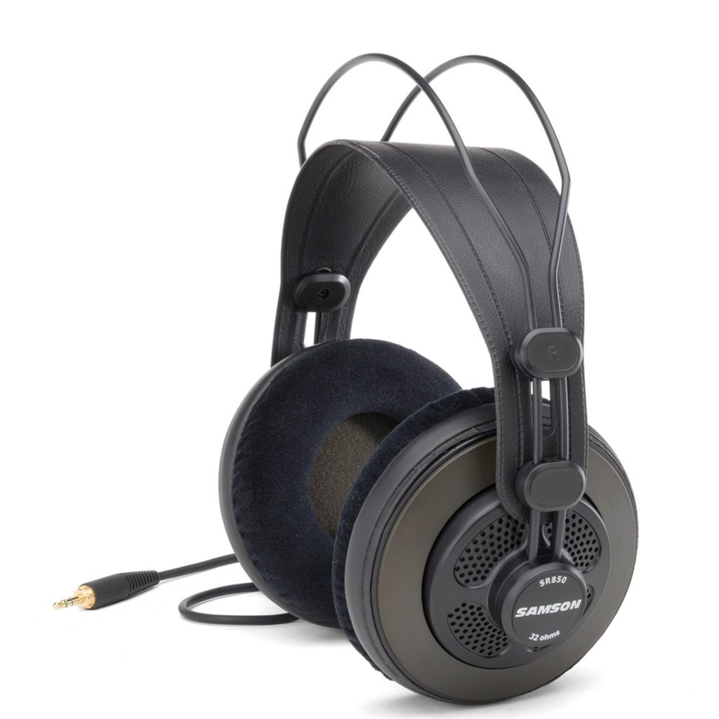 Samson SR850 Professional Studio Reference Headphones 1
