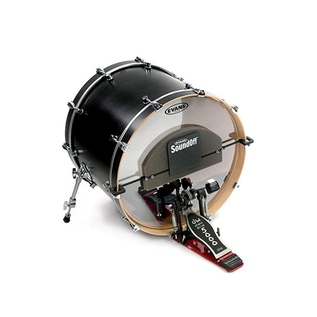 Evans-SoundOff-Bass-Drum-Mute-on-Drum