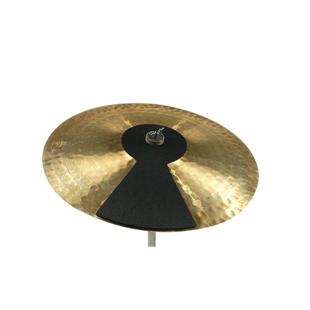 Evans-SoundOff-Cymbal-Mute-on-Cymbal