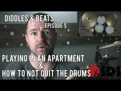 Video: Tips & Motivation for Apartment Drummers