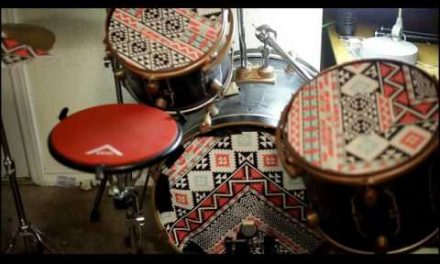 Video: Muting a Drum Kit with a Yoga Pad